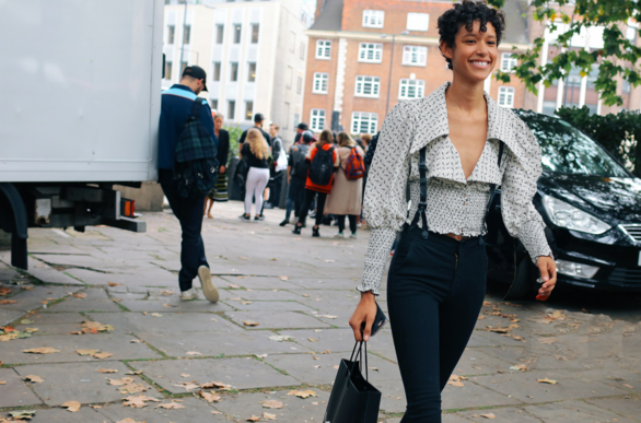 The trend strong-arming it's way into our wardrobes...