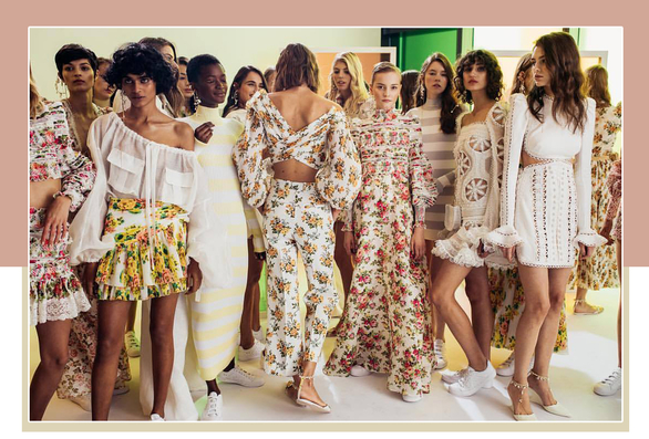 We know, we know—'florals for spring,' again?