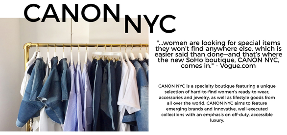 NEW ON THE SCENE: CANON NYC