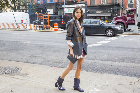 Say goodbye to that pedicure and hello to ankle boots...