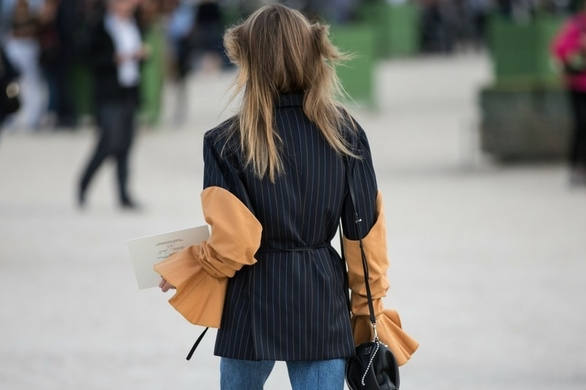 Statement sleeves are the new black, people...