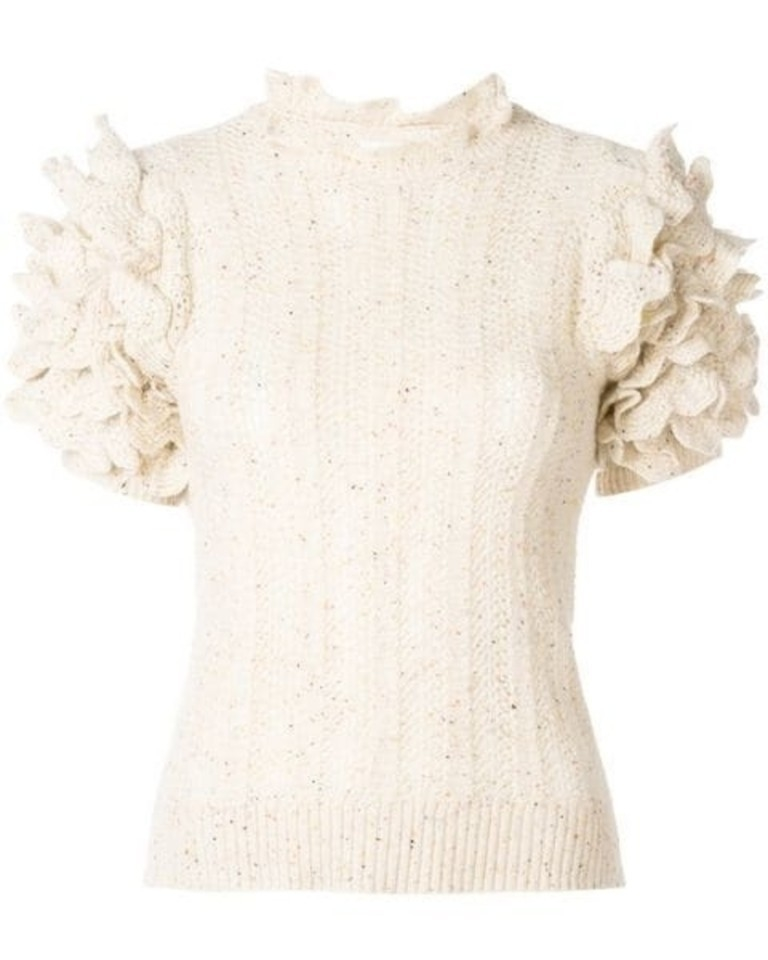 Ulla Johnson Amie Top - Cream Tops