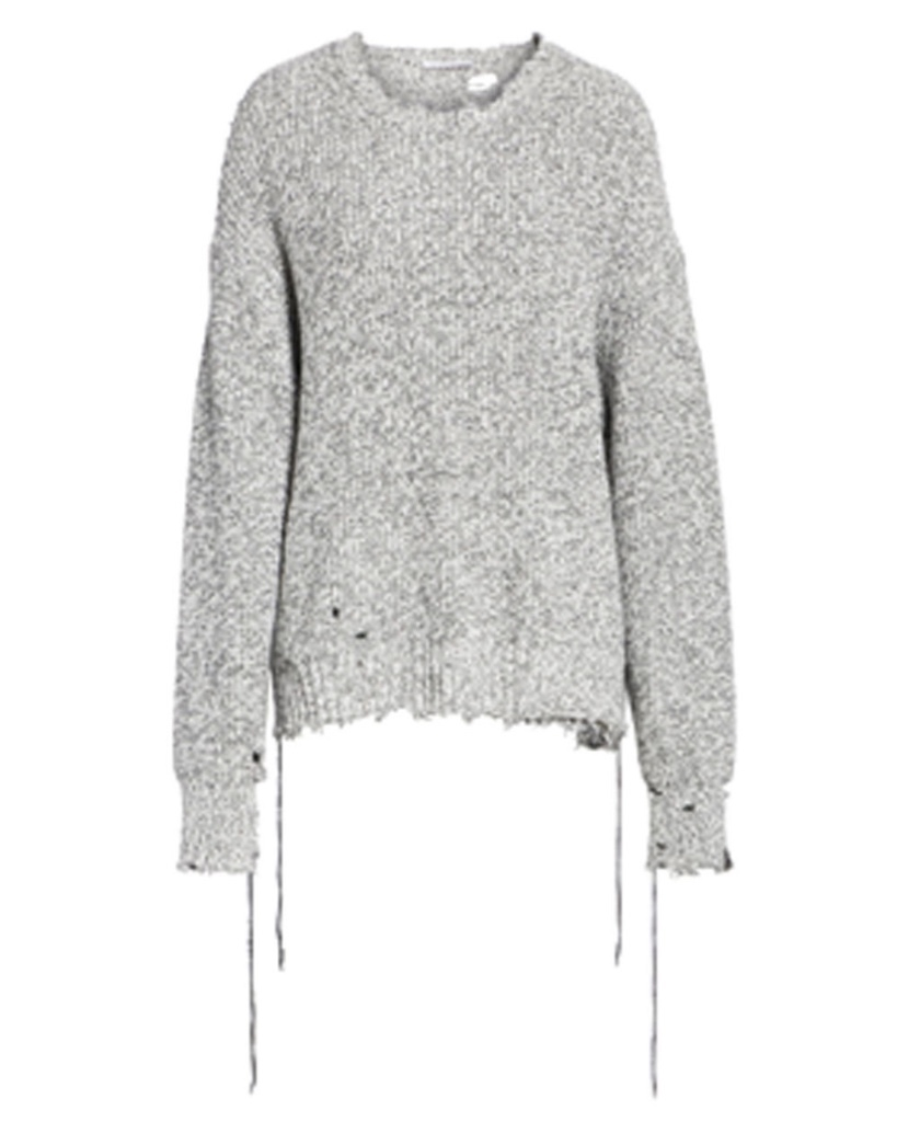 Helmut Lang Helmut Lang Distressed Sweater Tops