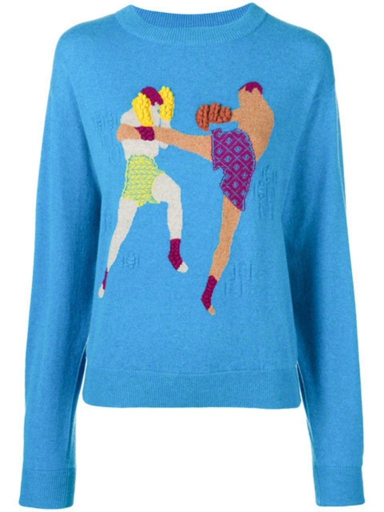 Barrie Boxing Sweater (Originally $1,160) Sale