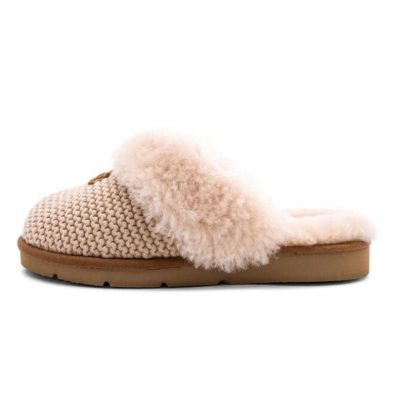 Ugg UGG Cream Cozy Knit Slipper Shoes