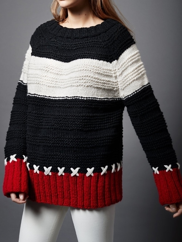 Smythe X Stich Crewneck Sweater (Originally $570) Sale Tops