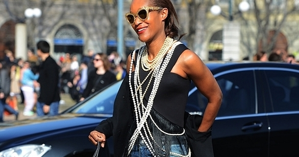 Get Ready...Pearls Are Making a Comeback for Fall