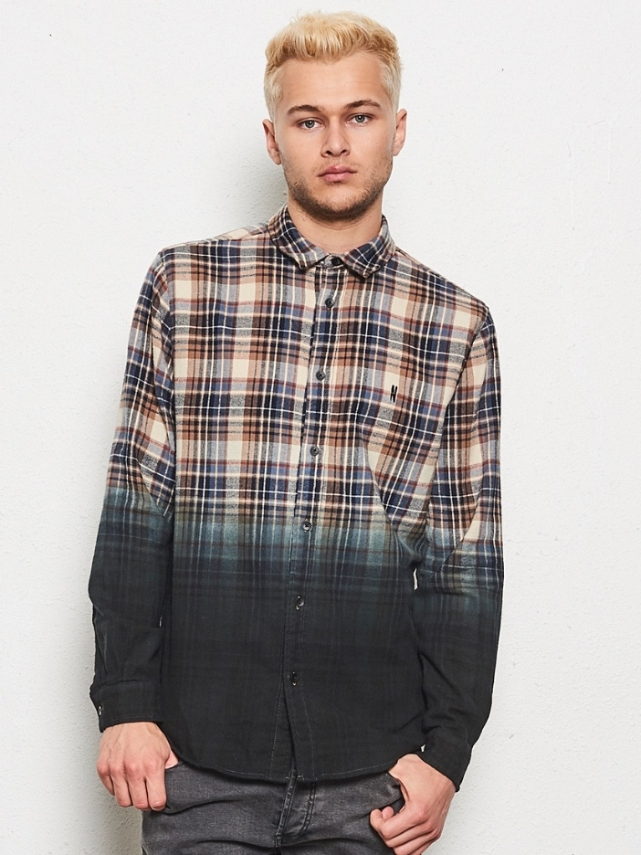 Nana Judy Central Shirt - Multi-plaid Men's