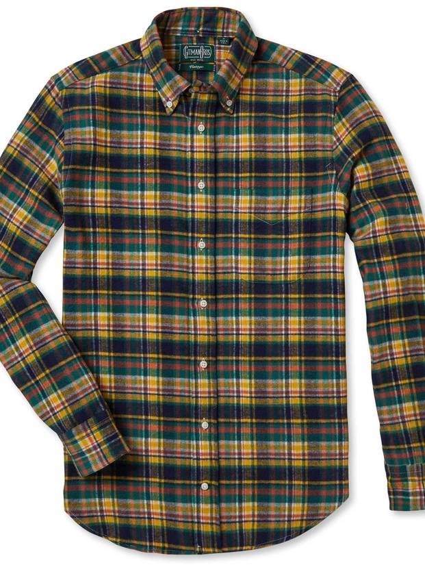 Gitman Vintage VINTAGE HUNTER PLAID FLANNEL Men's Sale