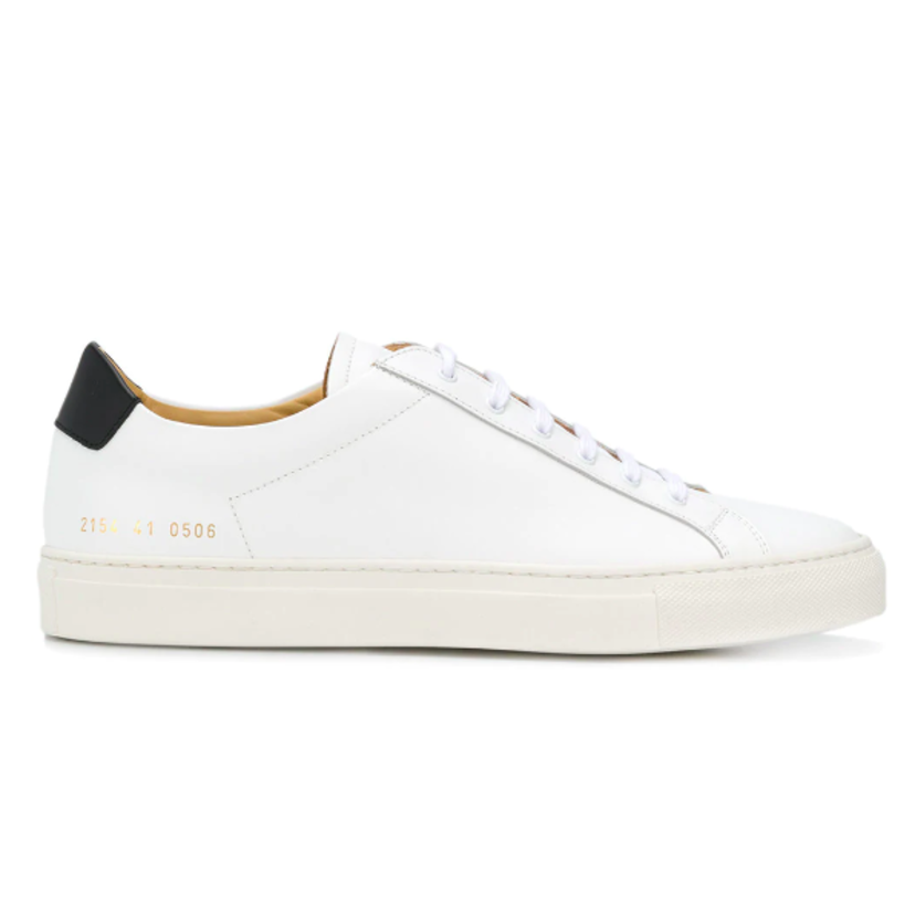 Common Projects ACHILLES RETRO LOW TOP SNEAKER (Originally $465) Men's Sale
