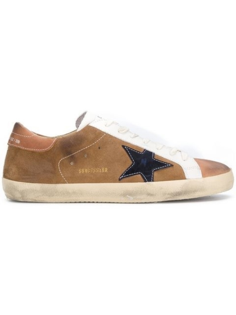 Golden Goose Deluxe Brand SUPERSTAR TAN SNEAKER (Originally $495) Men's Sale