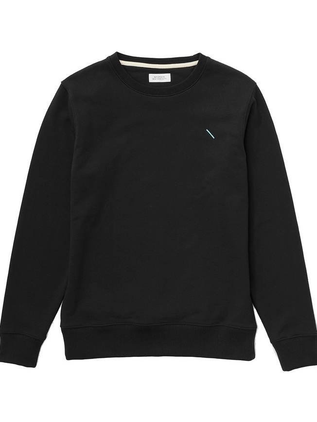 Saturdays BOWERY SLASH CREW SWEATSHIRT  (Originally $115) Men's Sale