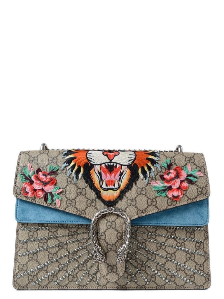Gucci Gucci GG Dionysus Embroidered Medium Bag Bags