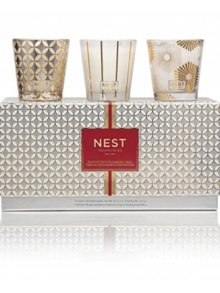 NEST Fragrances Nest Holiday Festive Candle Trio Set
