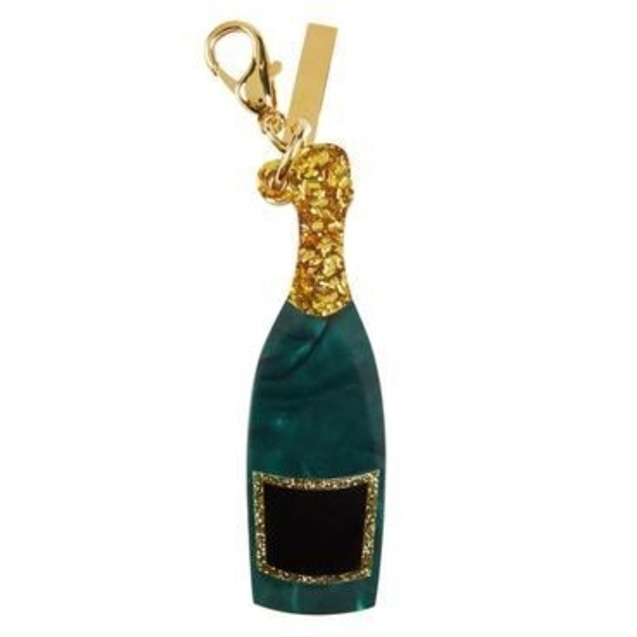 Edie Parker Champagne Bottle Charm Accessories
