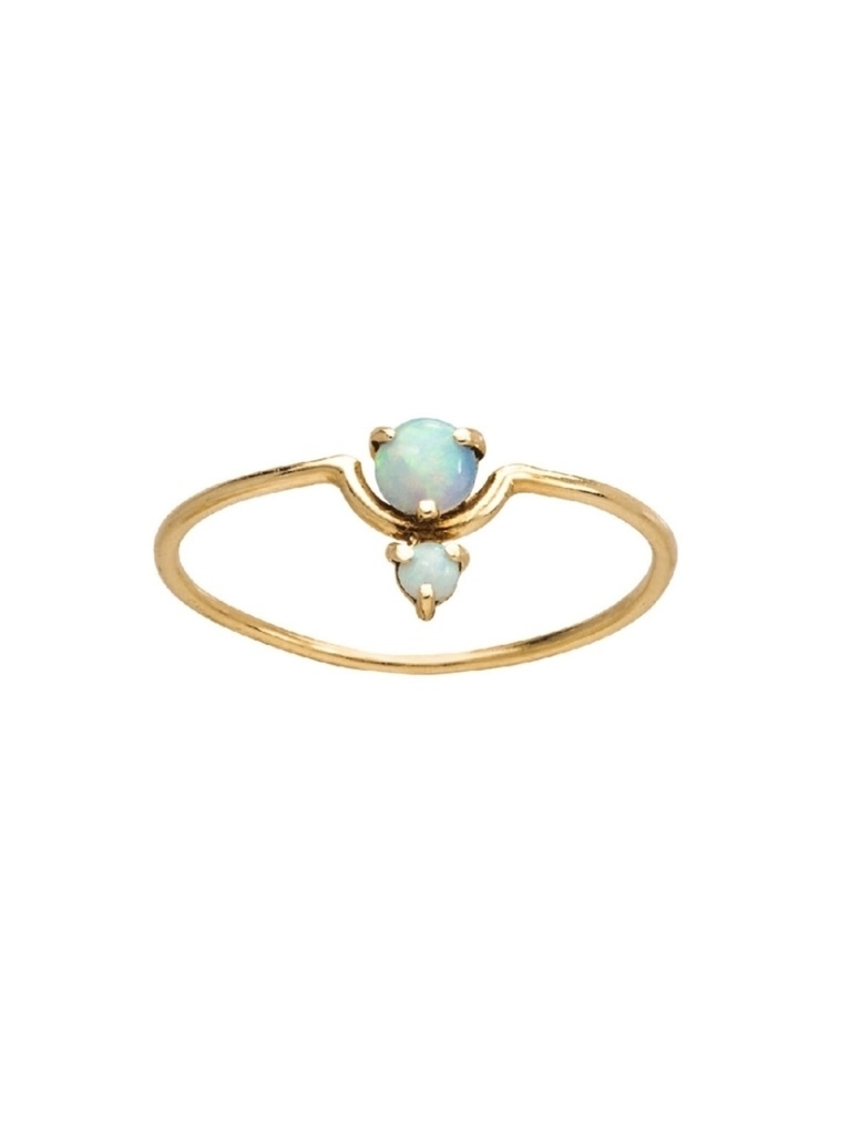 Wwake WWAKE Nestled Opal Ring Jewelry