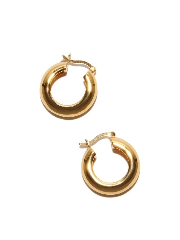 Lizzie Fortunato Gold Mood Hoops Jewelry