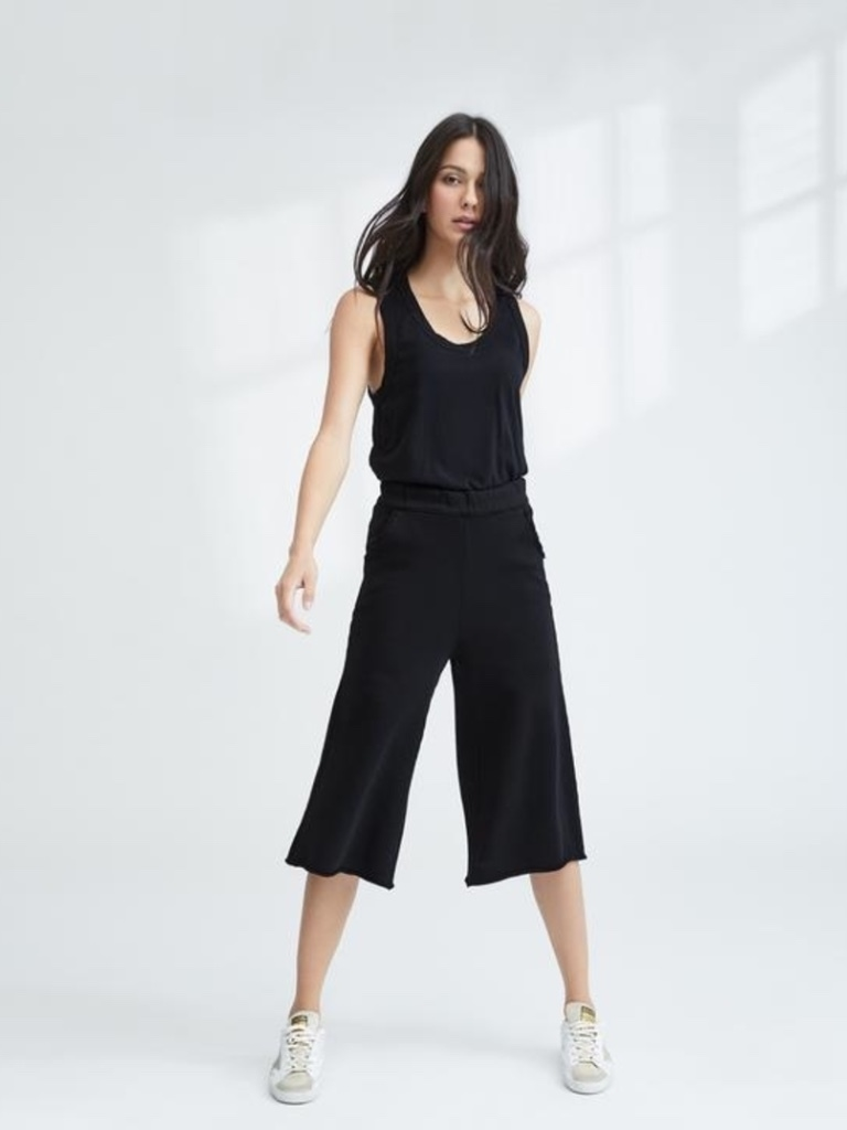 Tee Lab by Frank & Eileen Gaucho - Blackout Pants