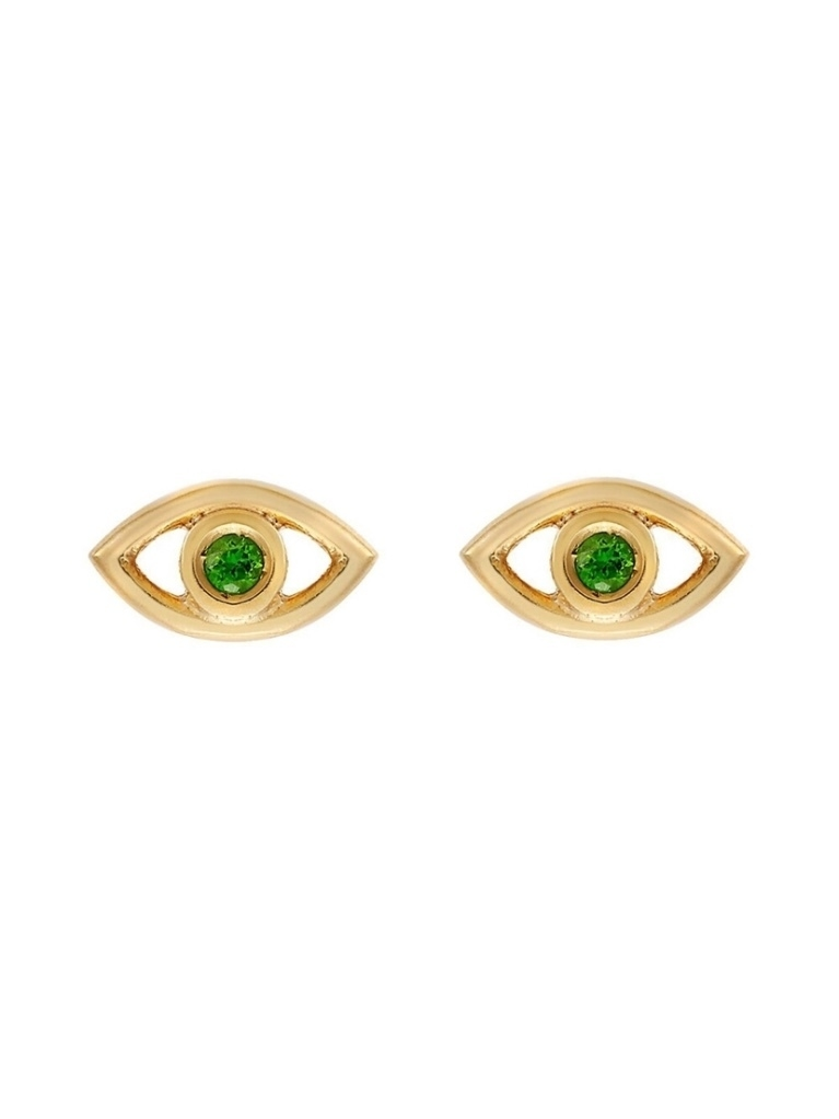 Eye M by Ileana Makri EYE M by Ileana Makri Mini Evil Eye Stud Earrings Jewelry