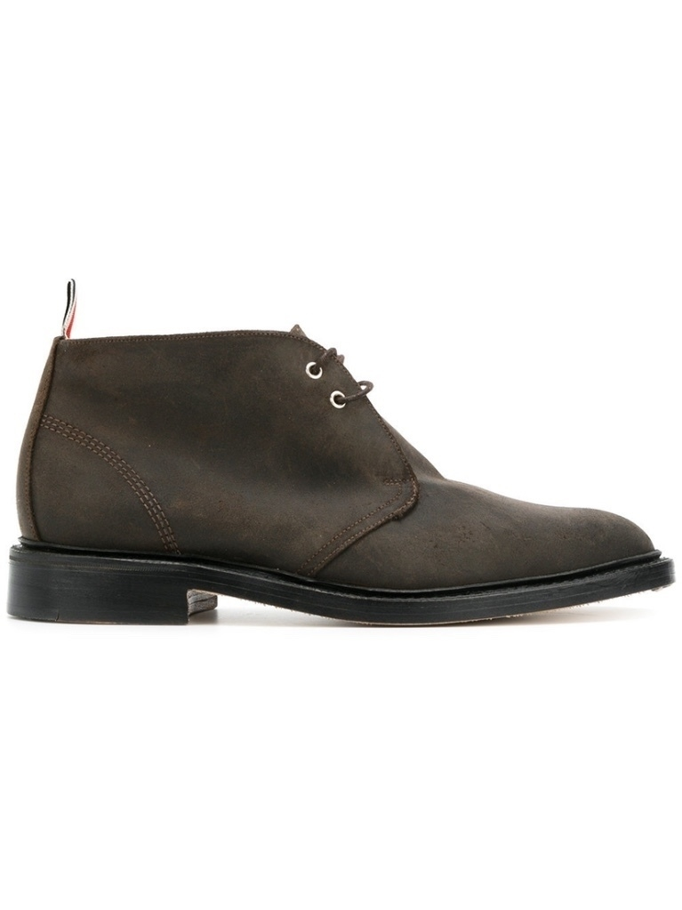Thom Browne LEATHER CHUKKA BOOT Men's