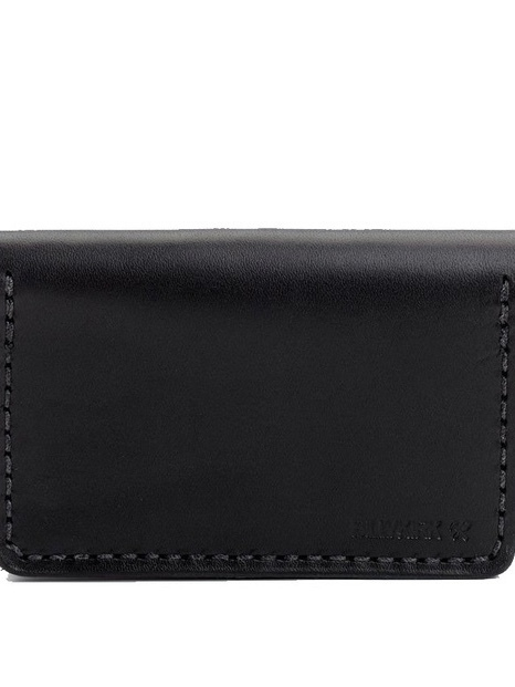 Billykirk BI-FOLD CARD CASE IN BLACK Men's