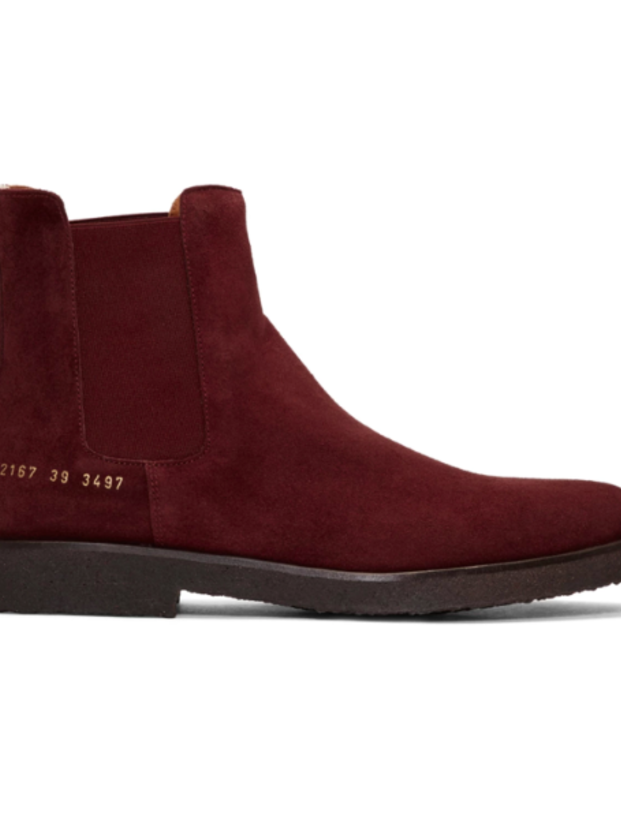 Common Projects CHELSEA SUEDE BOOT (Originally $529) Men's Sale