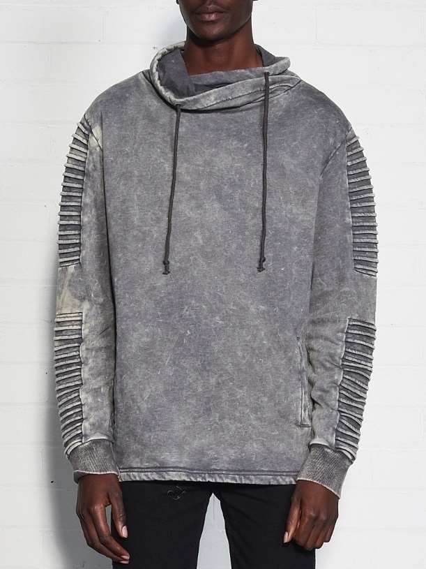 Nana Judy Utopia Hoodie - Acid Grey Men's