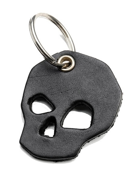 Billykirk SKULL KEY CHAIN IN BLACK Men's