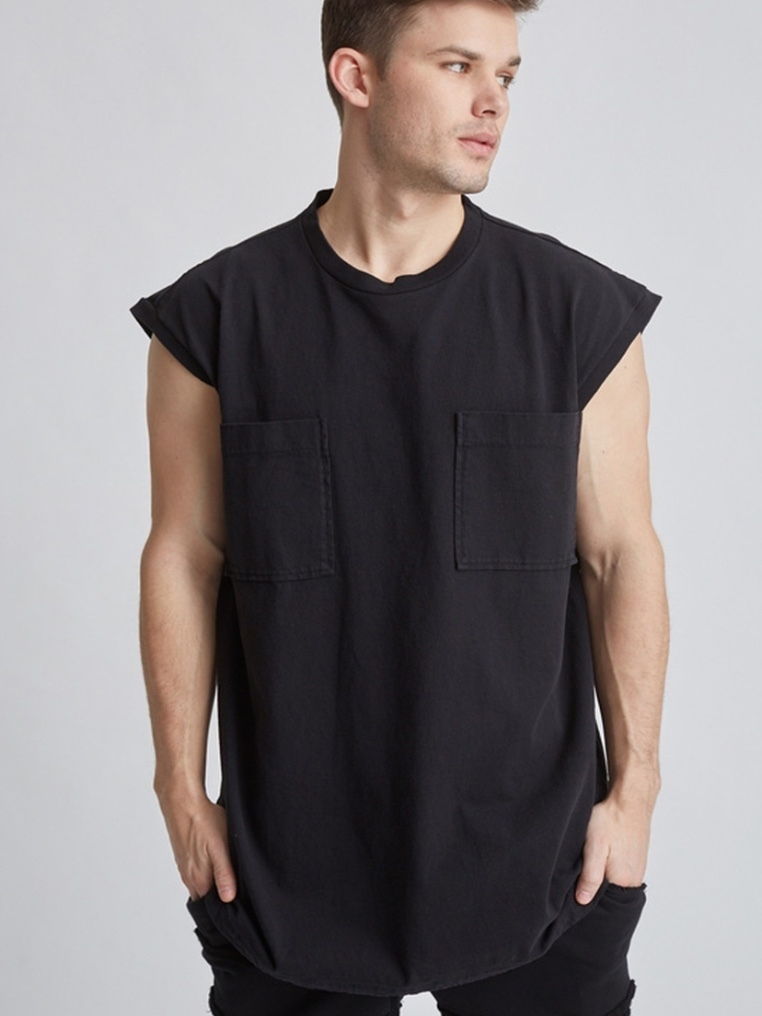 Drifter Borax Top - Black (Originally $150) Men's
