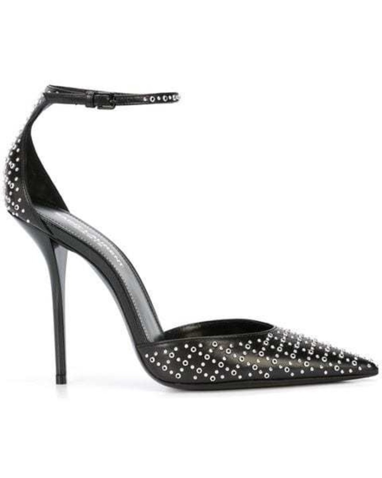 Saint Laurent Saint Laurent - Studded Black Pumps Shoes