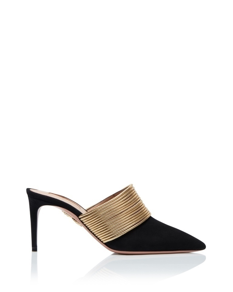 Aquazzura Rendez Vous Mule Shoes