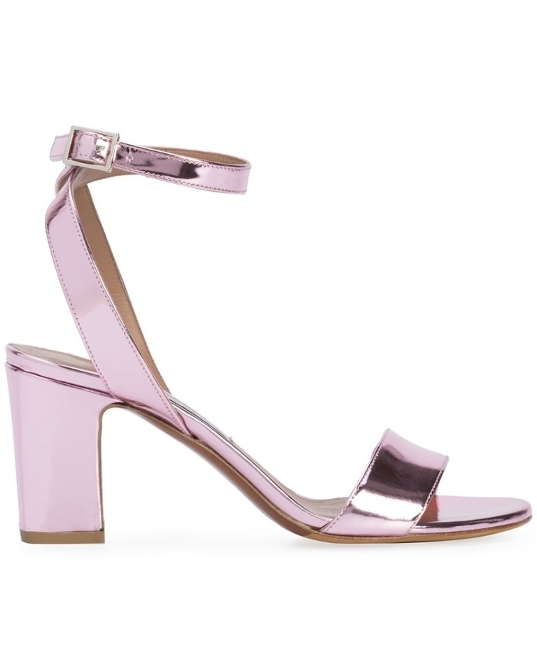 Tabitha Simmons Exclusive Pink Metallic Heels (Originally $625) Sale Shoes