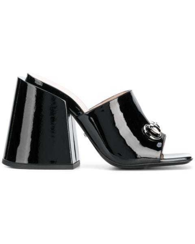 Gucci Gucci - High-Heeled Slides Shoes