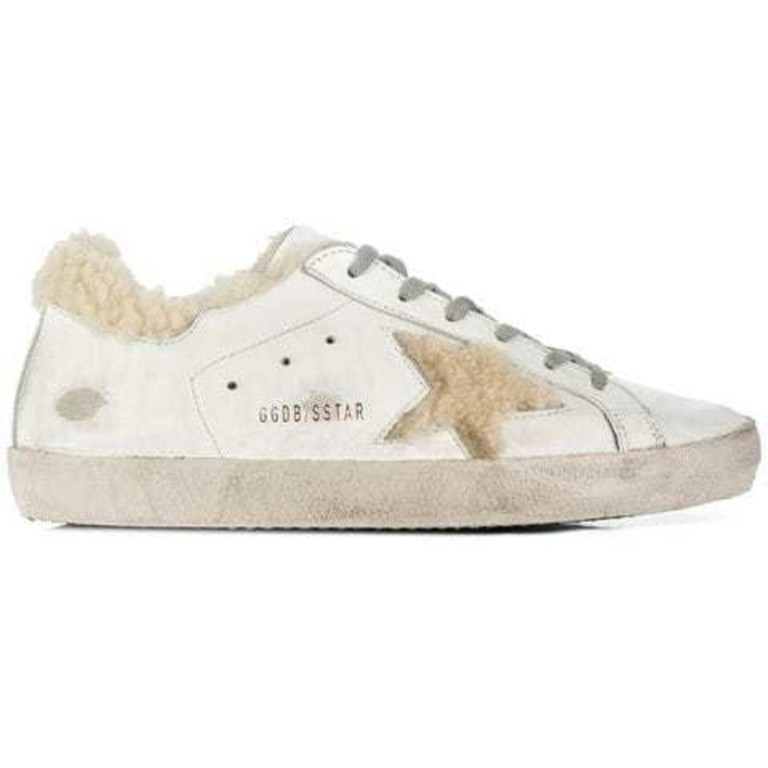 Golden Goose Deluxe Brand Superstar Shearling Shoes