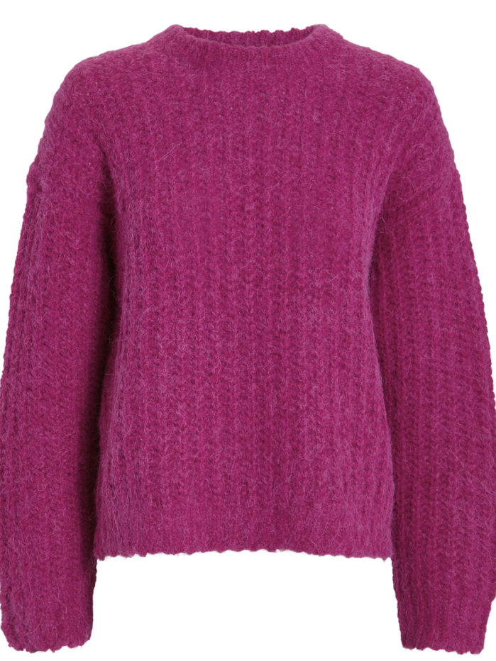 IRO Automne Sweater - Burgundy (Originally $482) Sale Tops
