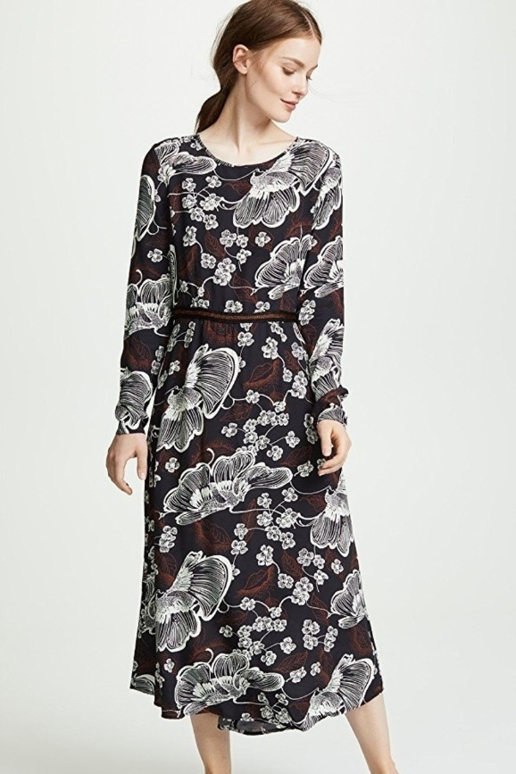 Warm Floral Poppy Dress (Originally $410) Dresses Sale
