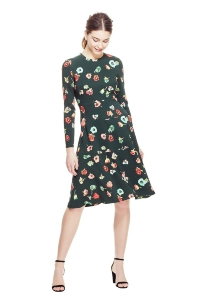 Lela Rose Floral Tiered Dress - Forest (Originally $1290) Dresses Sale