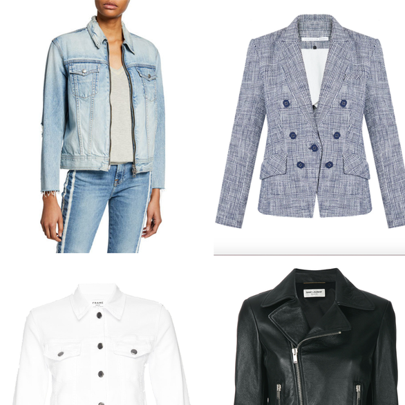 32 jackets perfect for the first days of spring...