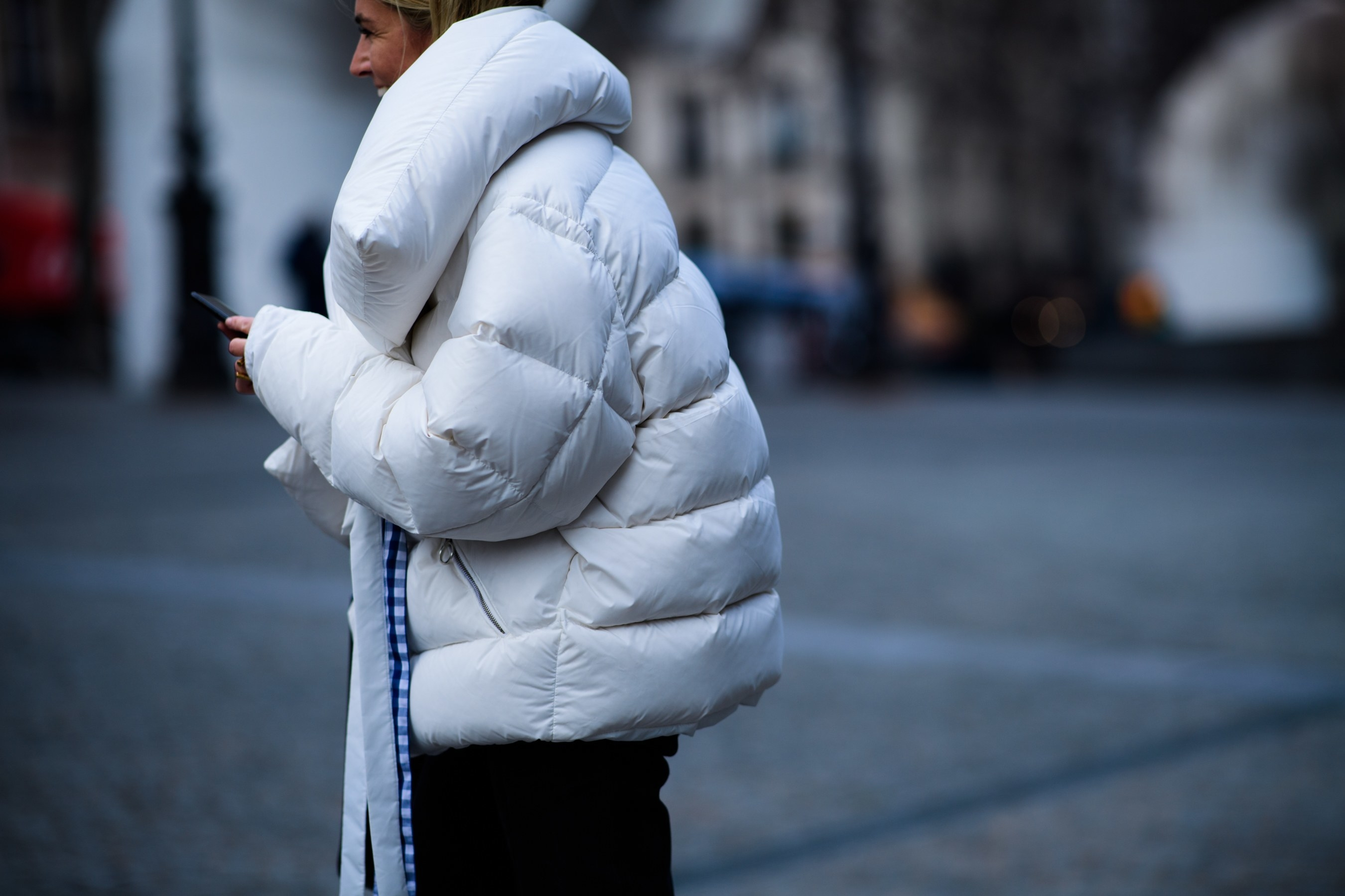 It's all in the outerwear...