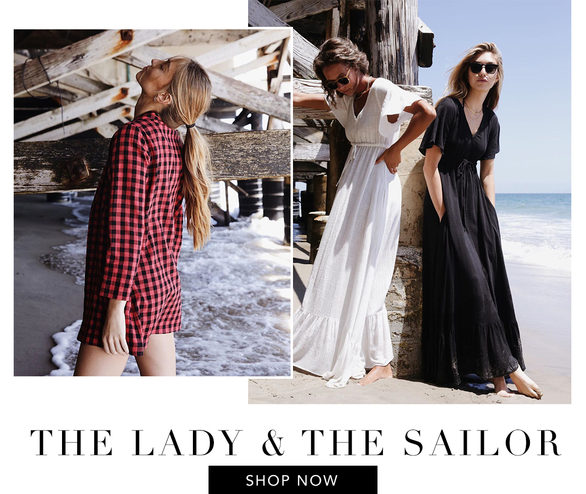 THE UPLOAD: the lady & the sailor, Zimmermann, and Ganni
