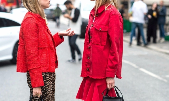 It's no secret that red has always been an iconic hue for fashion...