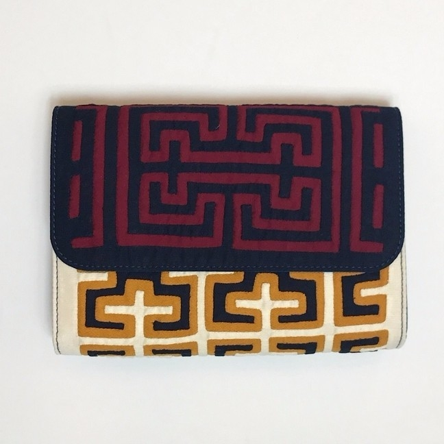 Mola Sasa MOLA SASA COLOGUI CLUTCH IN BLUE/RED Bags