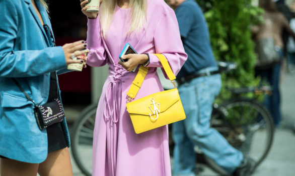 This fall we are crushing on sorbet shades...