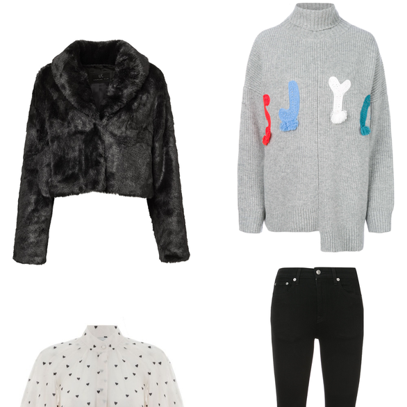NEW ARRIVALS: Faux Fur, Knits, and Classic Kicks
