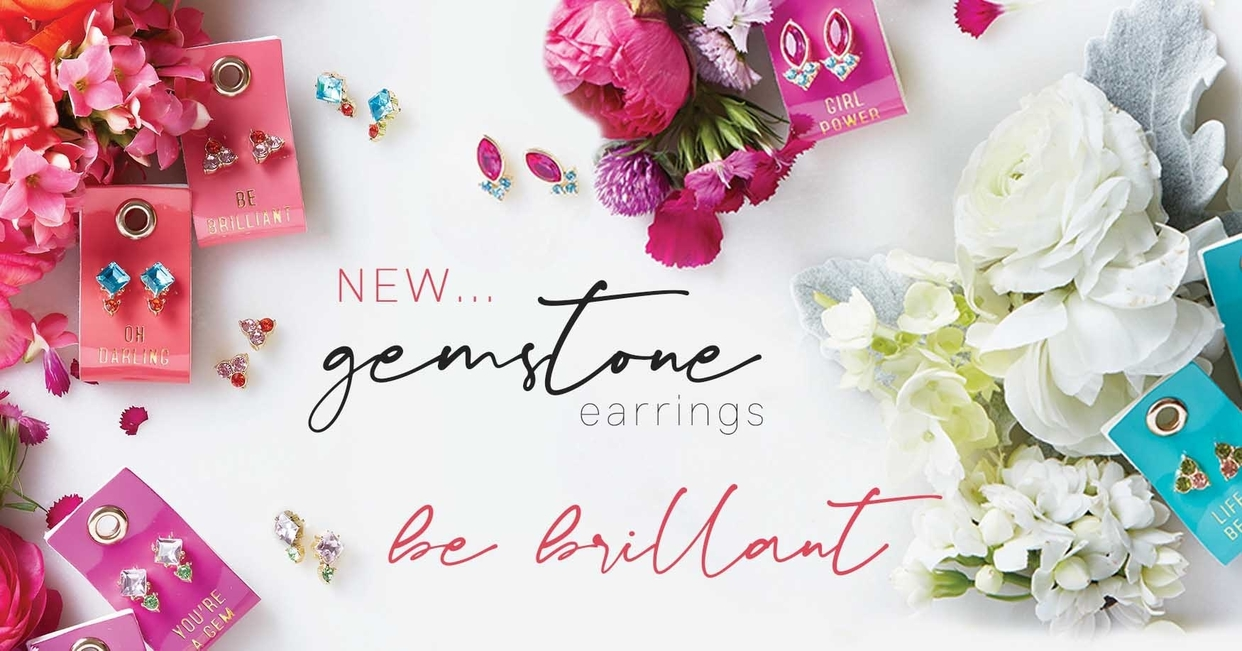 Big 3x sbds gemstone earrings direct september 2020