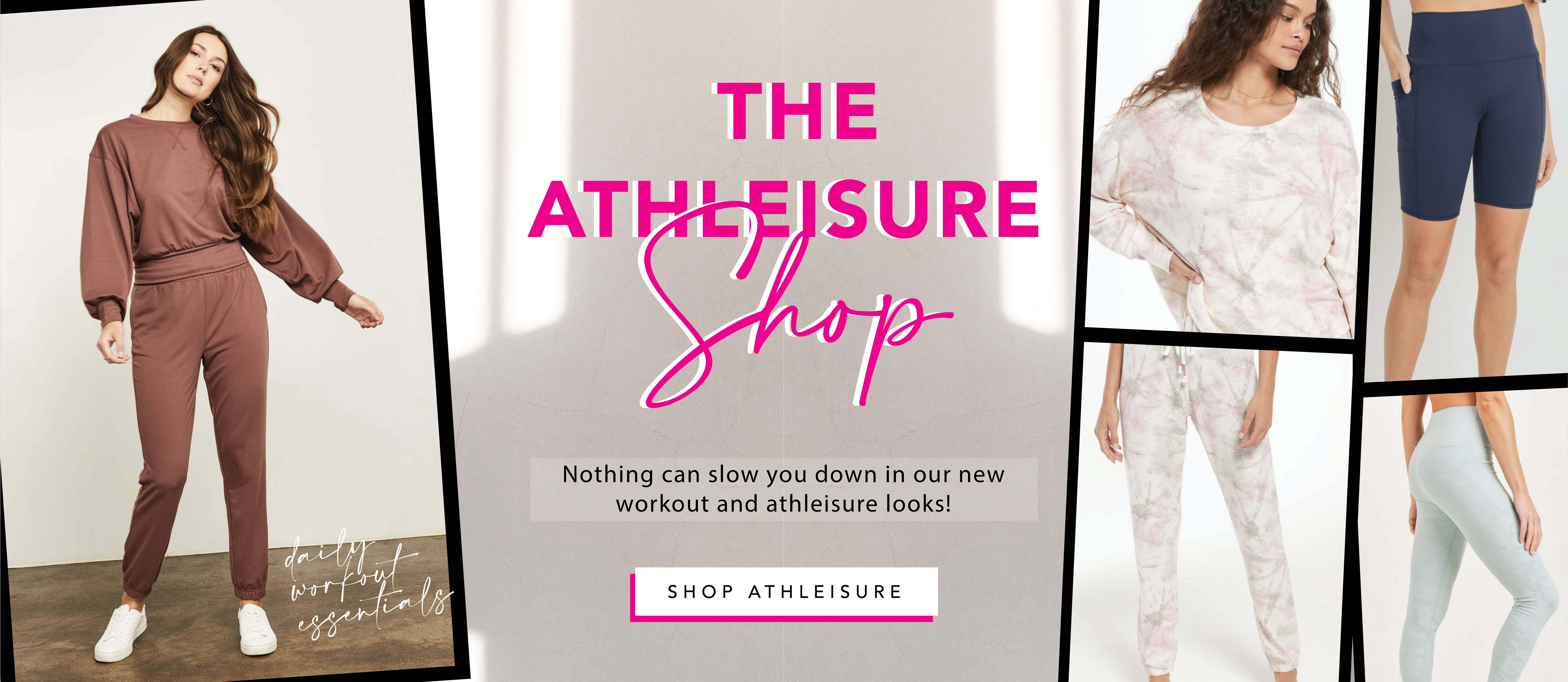workout and athleisure