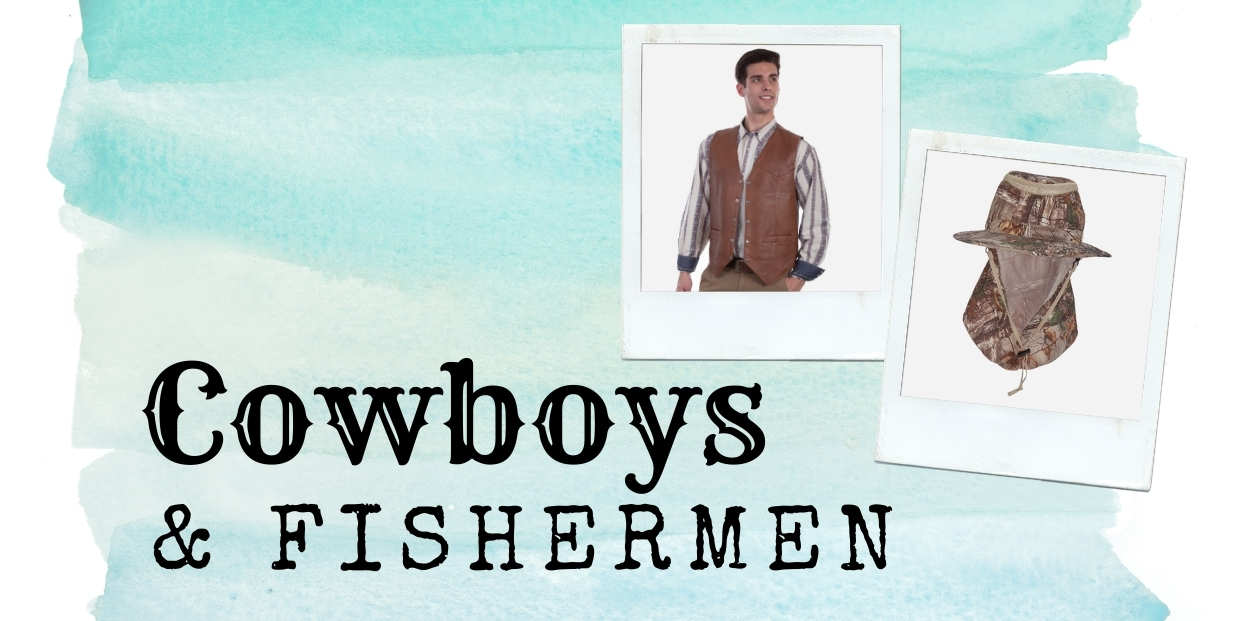 Big 3x cowboys   fisherman