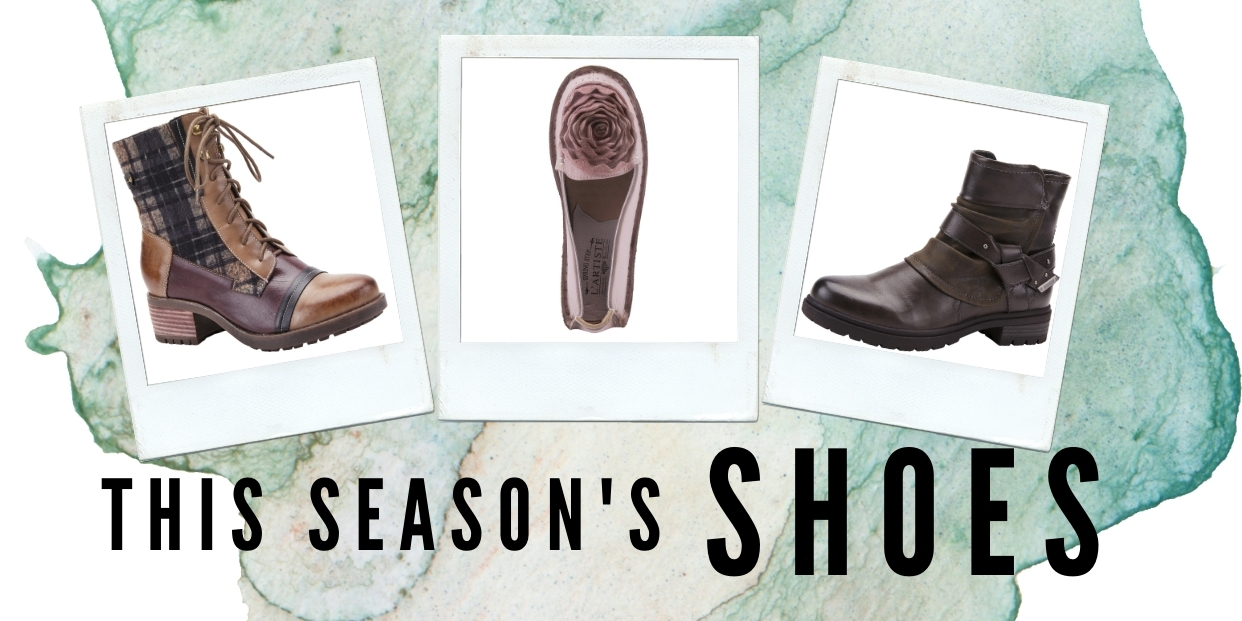 All Our New Shoes for Late Summer into Early Fall