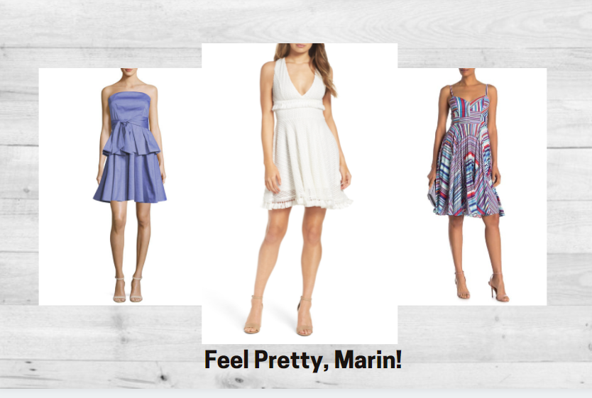 One and Done.  Experience the joy of one-stop dressing!