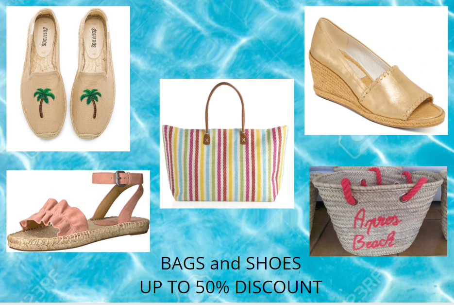 SALE BAGS AND SHOES